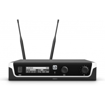 LD Systems U508 BPL - Wireless Microphone System with Bodypack and Lavalier Microphone - 823 – 832 MHz + 863 – 865 MHz. #4