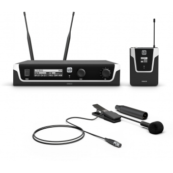 LD Systems U508 BPW - Wireless Microphone System with Bodypack and Brass Instrument Microphone - 823 – 832 MHz + 863 – 865 MHz.