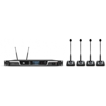 LD Systems U508 CS 4 - 4-Channel Wireless Conference System