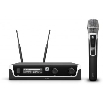 LD Systems U508 HHC - Wireless Microphone System with Condenser Handheld Microphone