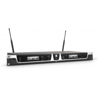 LD Systems U518 HBH 2 - Wireless Microphone System with Bodypack, Headset and Dynamic Handheld Microphone #2