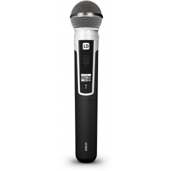 LD Systems U518 HBH 2 - Wireless Microphone System with Bodypack, Headset and Dynamic Handheld Microphone #13