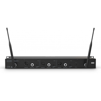 LD Systems U518 HBH 2 - Wireless Microphone System with Bodypack, Headset and Dynamic Handheld Microphone #5