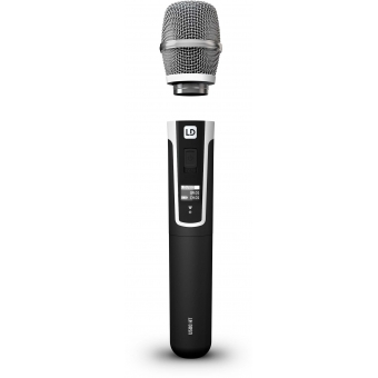 LD Systems U518 HHC 2 - Wireless Microphone System with 2 x Condenser Handheld Microphone #7