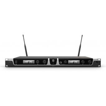 LD Systems U518 HHD 2 - Dual - Wireless Microphone System with 2 x Dynamic Handheld Microphone #4