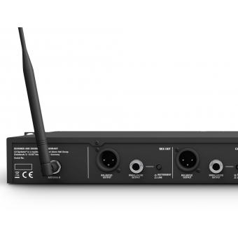 LD Systems U518 HHD 2 - Dual - Wireless Microphone System with 2 x Dynamic Handheld Microphone #10