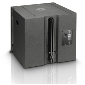 """LD Systems V 212 SUB - Flyable 2 x 12"""" band-pass subwoofer 700W passive #2"""