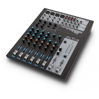 LD Systems VIBZ 10 C - 10 Channel Mixing Console with Compressor