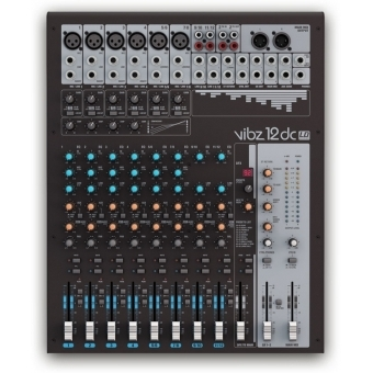 LD Systems VIBZ 12 DC - 12 Channel Mixing Console with DFX and Compressor #2