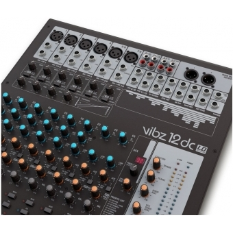 LD Systems VIBZ 12 DC - 12 Channel Mixing Console with DFX and Compressor #5