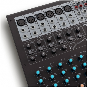 LD Systems VIBZ 12 DC - 12 Channel Mixing Console with DFX and Compressor #8