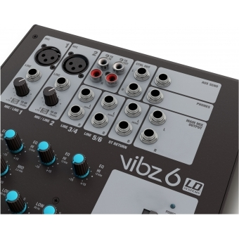 LD Systems VIBZ 6 - 6 Channel Mixing Console #5