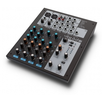 LD Systems VIBZ 6 D - 6-Channel Mixing Console with DFX