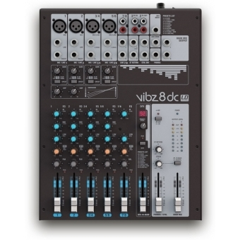 LD Systems VIBZ 8 DC - 8 Channel Mixing Console with DFX and Compressor #2