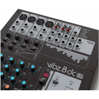 LD Systems VIBZ 8 DC - 8 Channel Mixing Console with DFX and Compressor #5