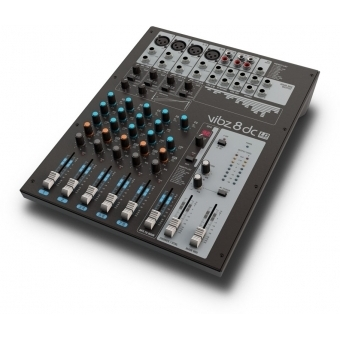 LD Systems VIBZ 8 DC - 8 Channel Mixing Console with DFX and Compressor