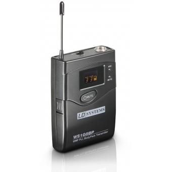 LD Systems WS 1G8 BP - Bodypack transmitter