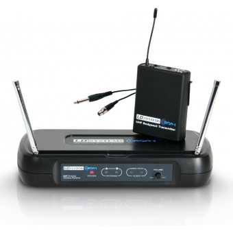 LD Systems ECO 2 BPG 1 - Wireless Microphone System with Belt Pack and Guitar Cable