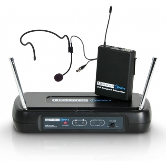 LD Systems ECO 2 BPH 1 - Wireless Microphone System with Belt Pack and Headset