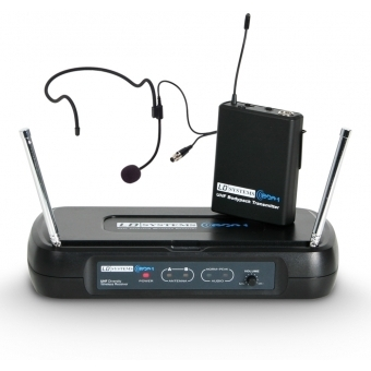 LD Systems ECO 2 BPH B6 II - Wireless microphone system with belt pack and headset