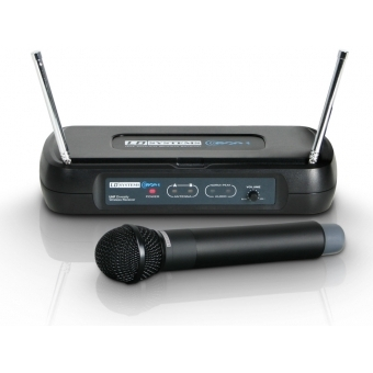 LD Systems ECO 2 HHD 2 - Dual - Wireless Microphone System with Dynamic Handheld Microphone