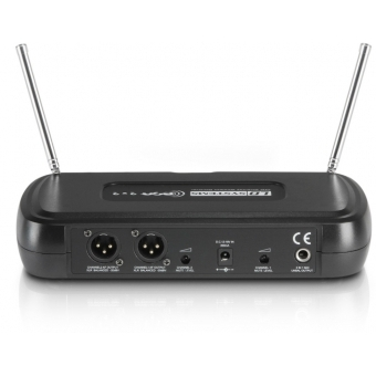 LD Systems ECO 2X2 HHD 1 - Wireless Microphone System with 2 x Dynamic Handheld Microphone #3