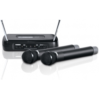 LD Systems ECO 2X2 HHD 1 - Wireless Microphone System with 2 x Dynamic Handheld Microphone