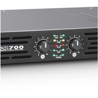 LD Systems XS 700 - PA Power Amplifier Class D 2 x 350 W 4 Ohms #4