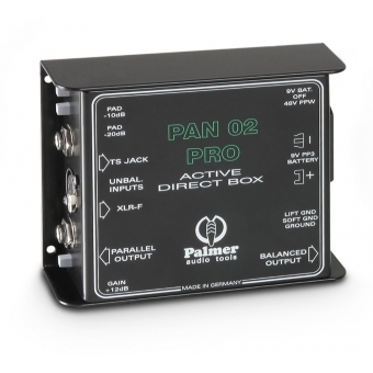 Palmer PAN 02 PRO - Professional DI Box active