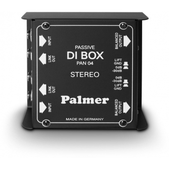 Palmer PAN 04 - DI Box 2-Channel passive
