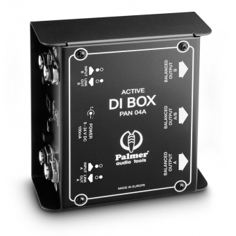 Palmer PAN 04 A - Active 2-Channel DI Box #5
