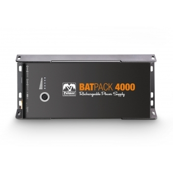 Palmer BATPACK 4000 - Rechargeable Pedalboard Power Supply, 400 0mAh #3