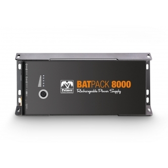 Palmer BATPACK 8000 - Rechargeable Pedalboard Power Supply, 8000mAh #3