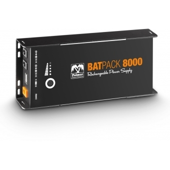 Palmer BATPACK 8000 - Rechargeable Pedalboard Power Supply, 8000mAh