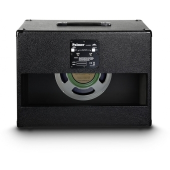 "Palmer CAB 112 GBK - Guitar Cabinet 1 x 12"" with Celestion G 12 M Greenback 8 Ohms #3"