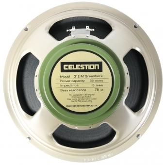 "Palmer CAB 112 GBK - Guitar Cabinet 1 x 12"" with Celestion G 12 M Greenback 8 Ohms #5"