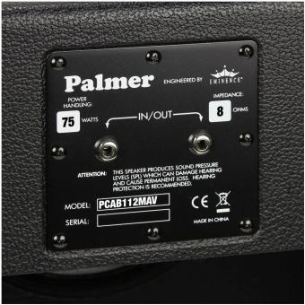 "Palmer CAB 112 MAV - Guitar Cabinet 1 x 12"" with Eminence Maverick 8 Ohms #4"