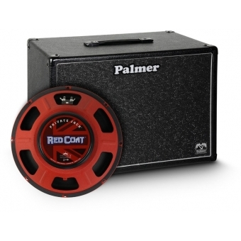 """Palmer CAB 112 PJA - Guitar Cabinet 1 x 12"""" with Eminence Private Jack 8 Ohms"""