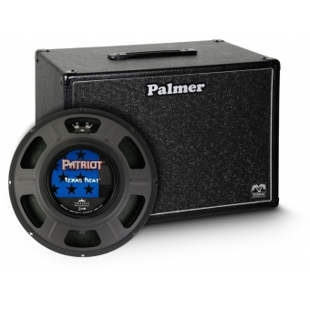 "Palmer CAB 112 TXH - Guitar Cabinet 1 x 12"" with Eminence Texas Heat 8 Ohms"