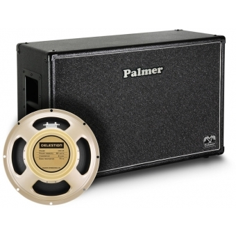 """Palmer CAB 212 CRM - Guitar Cabinet 2 x 12"""" with Celestion Creamback Model 8 / 16 Ohm"""