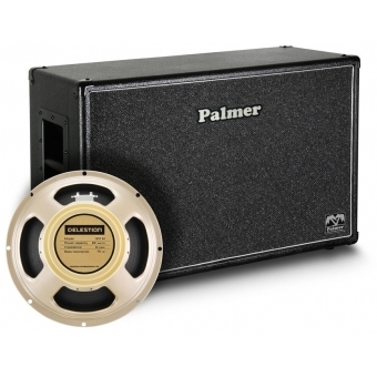 """Palmer CAB 212 CRM OB - Guitar Cabinet 2 x 12"""" with Celestion Creamback Model 8/16 Ohm Open Back"""