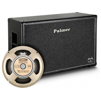 """Palmer CAB 212 G12A - Guitar Cabinet 2 x 12"""" with Celestion G12H Anniversary Model 8/16 Ohm"""