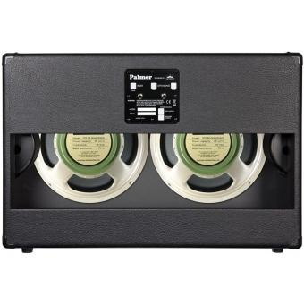 "Palmer CAB 212 GBK OB - Guitar Cabinet 2 x 12"" with Celestion G 12 M Greenback 8/16 Ohm Open Back #3"