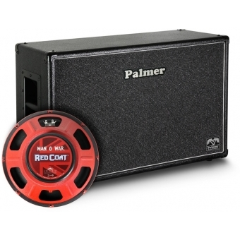 "Palmer CAB 212 MOW OB - Guitar Cabinet 2 x 12"" with Eminence Man-O-War 8/16 Ohm Open Back"