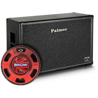 "Palmer CAB 212 PJA - Guitar Cabinet 2 x 12"" with Eminence Private Jack 8/16 Ohms"