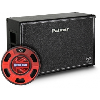 "Palmer CAB 212 PJA OB - Guitar Cabinet 2 x 12"" with Eminence Private Jack 8/16 Ohm Open Back #1"