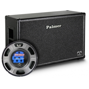"Palmer CAB 212 REX - Guitar Cabinet 2 x 12"" with Eminence Cannabis Rex 8/16 Ohms"