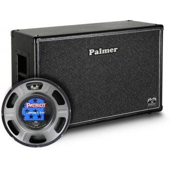"""Palmer CAB 212 REX OB - Guitar Cabinet 2 x 12"""" with Eminence Cannabis Rex 8/16 Ohm Open Back"""