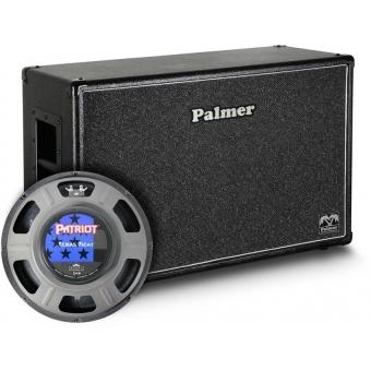 "Palmer CAB 212 TXH OB - Guitar Cabinet 2 x 12"" with Eminence Texas Heat 8/16 Ohm Open Back"
