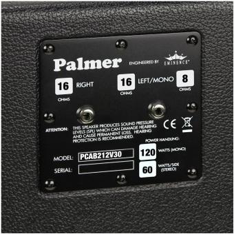 """Palmer CAB 212 V30 - Guitar Cabinet 2 x 12"""" with Celestion Vintage 30  8/16 Ohms #4"""